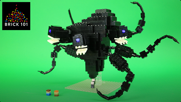 How To Build LEGO Wither Storm