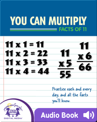You Can Multiply Facts of 11