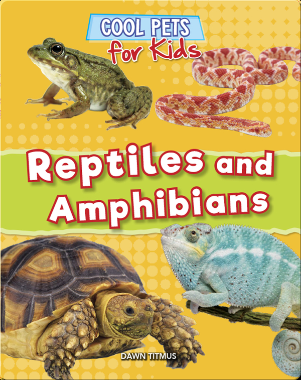 Cool Pets for Kids: Reptiles and Amphibians