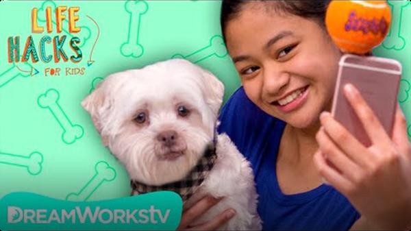 Dog Selfie Stick + Other Shaggy Hacks | LIFE HACKS FOR KIDS