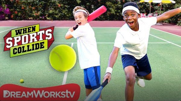 Grand Slam Set (Baseball + Tennis) | WHEN SPORTS COLLIDE