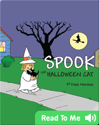 Spook The Halloween Cat