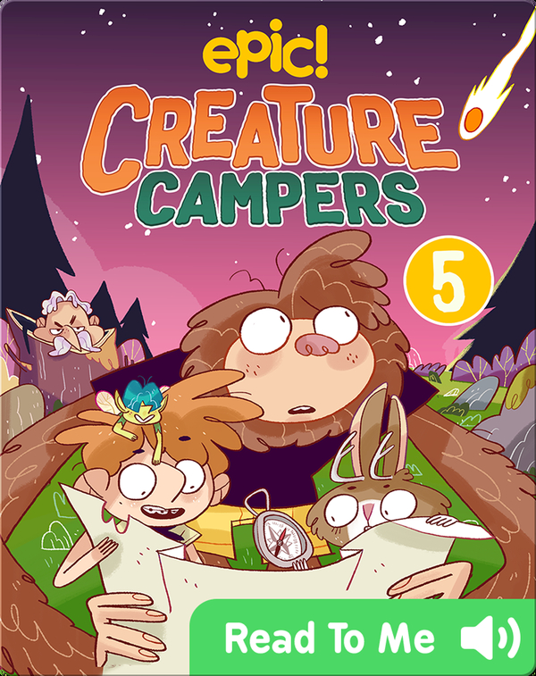 Creature Campers Book 5: Surprise Under The Stars