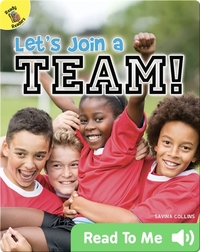 Let's Join a Team