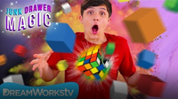 Rubik's Cube Explosion | JUNK DRAWER MAGIC