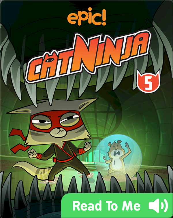 Cat Ninja Book 5: Family Squabbles