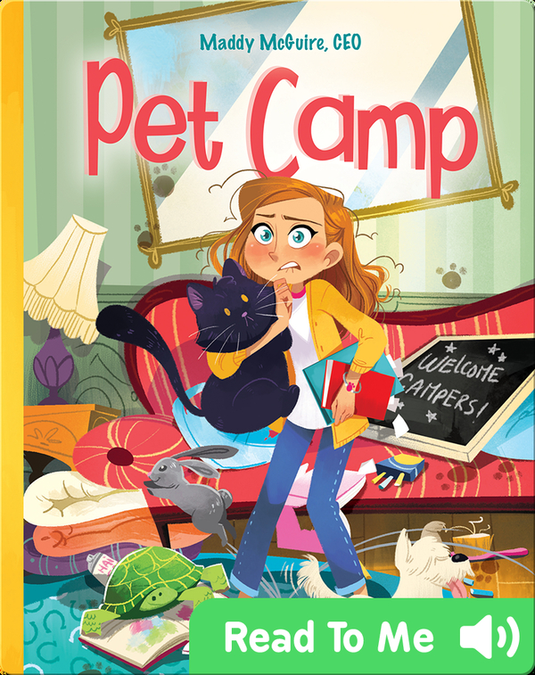 Maddy McGuire, CEO: Pet Camp