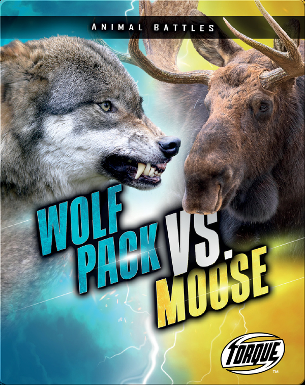 Animal Battles: Wolf Pack vs. Moose