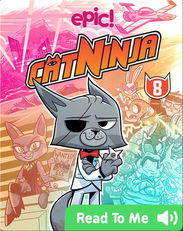 Cat Ninja Book 8: Time Heist