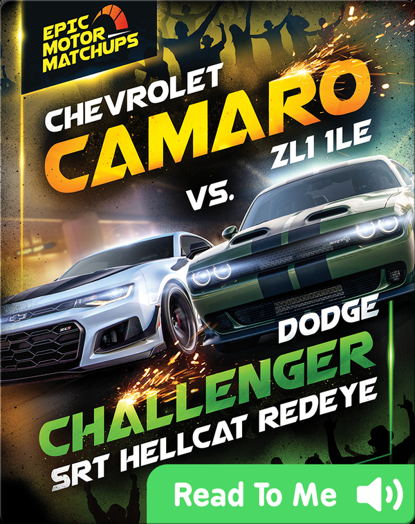 Chevrolet Camaro ZL1 1LE vs. Dodge Challenger SRT Hellcat Redeye
