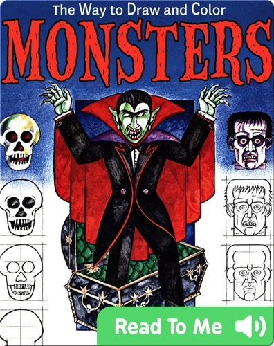 The Way to Draw and Color Monsters