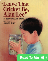 Leave That Cricket Be, Alan Lee
