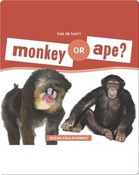 Monkey or Ape?
