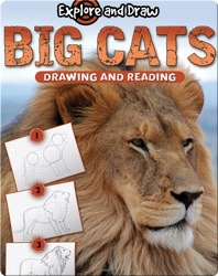 Explore And Draw: Big Cats