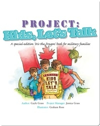 Project: Kids, Let's Talk: A Tale from the Iris the Dragon Series