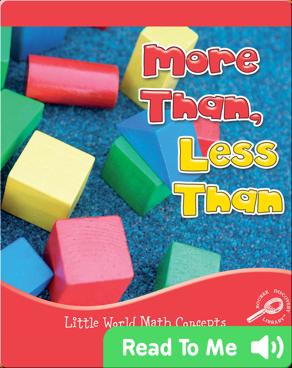 More Than, Less Than
