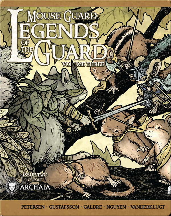 Mouse Guard: Legends of the Guard Vol. #3: Issue #2