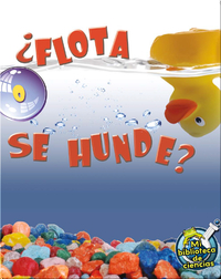 ¿Flota O Se Hunde? (Floating and Sinking)
