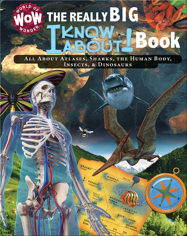 The Really Big I Know About! Book: All About Atlases, Sharks, The Human Body, Insects, & Dinosaurs