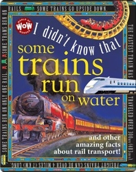I Didn't Know That Some Trains Run on Water