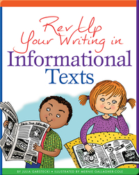 Rev Up Your Writing in Informational Texts