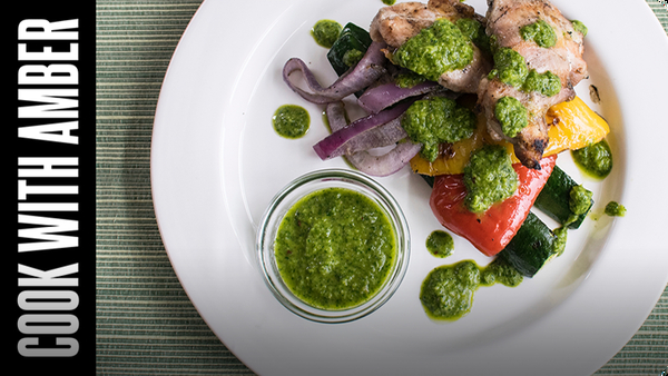 Cilantro Chimichurri Sauce | Cook With Amber