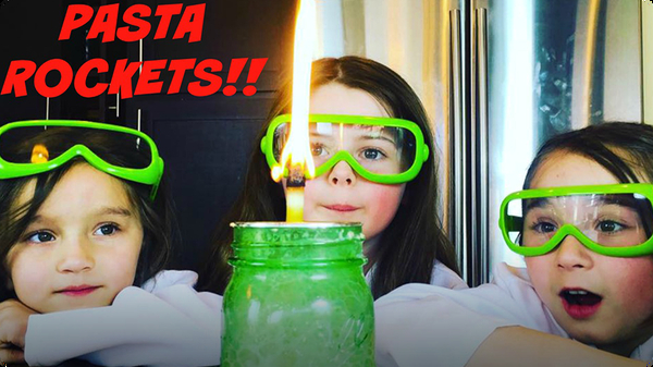 Explosive Science |  How to Make a Pasta Rocket