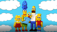 How to Build LEGO Simpsons Family