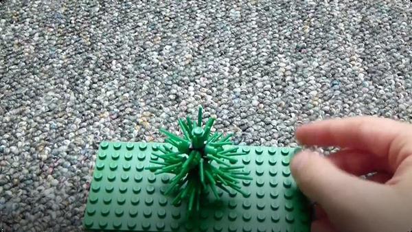 How to Build: Lego Pine Tree