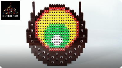 How To Build LEGO Eye of Eyes