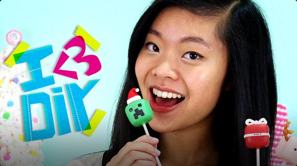 Kawaiisweetworld's Minecraft Cakepops | I ♥ DIY