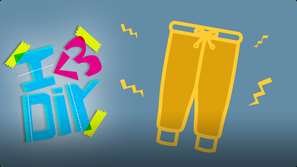 Coolirpa's Sweatpants Upgrade | I ♥ DIY