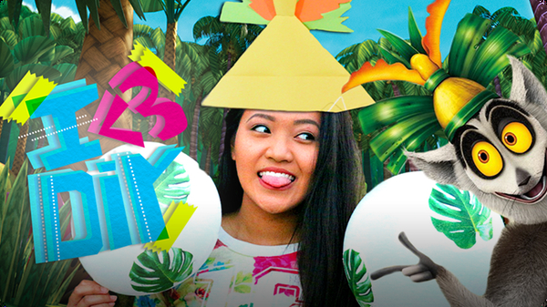 Tropical Party Ideas with King Julien | I ♥ DIY
