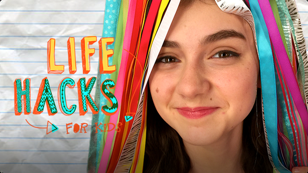 Ribbon Hacks   LIFE HACKS FOR KIDS