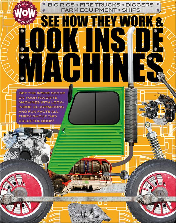 See How They Work & Look Inside Machines