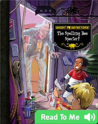 The Spelling Bee Specter! (Ghost Detectors #19)