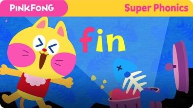 Super Phonics - Fin in Bin (in)