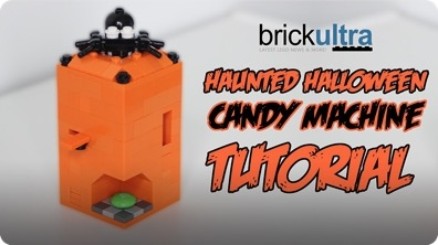 Haunted Halloween LEGO Candy Machine Tutorial & Instructions