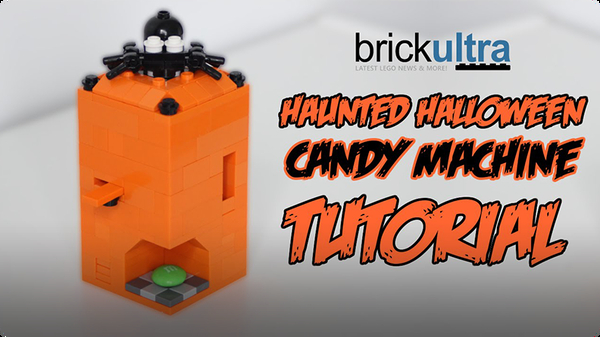 Haunted Halloween LEGO Candy Machine Tutorial & Instructions