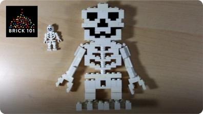 How To Build a LEGO Skeleton