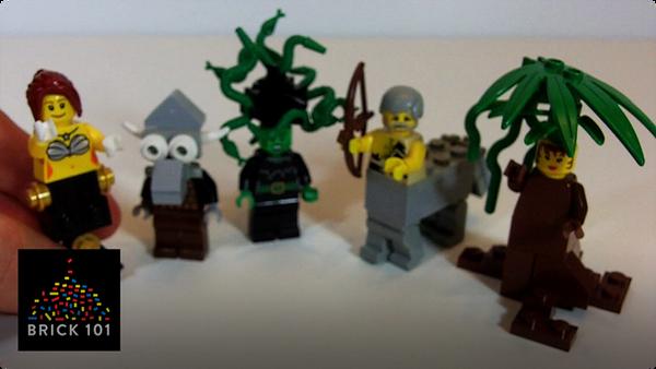 How To Build LEGO Centaurs, Mermaids, Minotaur, Medusa and Dryad