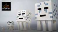 How To Build LEGO Minecraft Ghast