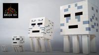 How To Build LEGO Minecraft Ghast