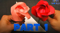 How to Make an Origami Rose – Part 1
