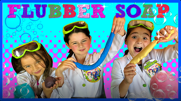 Flubber Soap for Kids!  Learn How To Make Fun Squishy Soap!