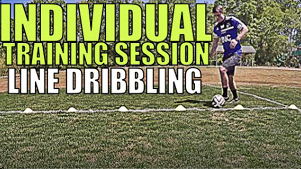 Line Dribbling to Improve Skill Fast | Individual Training Session