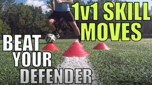 5 Essential 1v1 Skill Moves | Beat Your Defender
