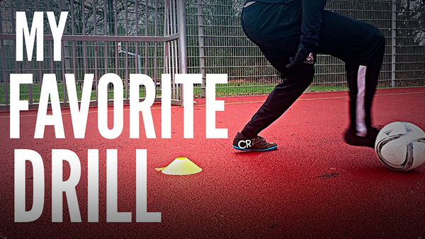 The #1 Soccer/Football Drill You NEED In Your Training Session