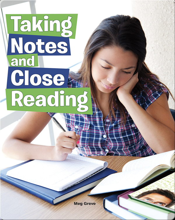 Taking Notes and Close Reading