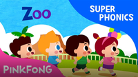 Super Phonics - Zoo Zoo Zoo (oo)